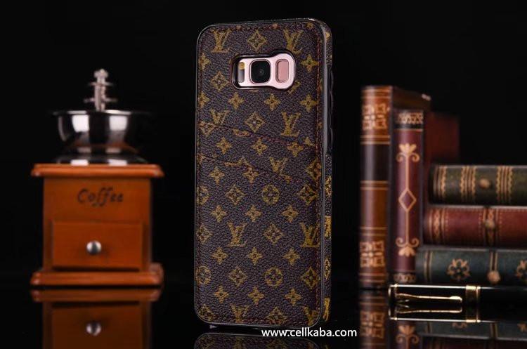 ビジネス風ギャラクシーs8plus携帯カバー
