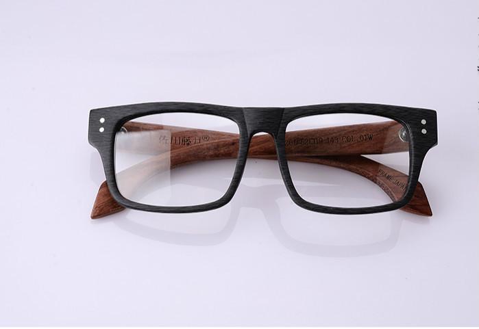 木製品ウェリントン メガネブランド