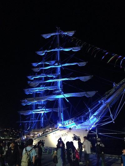 長崎帆船祭り2015 花火大会
