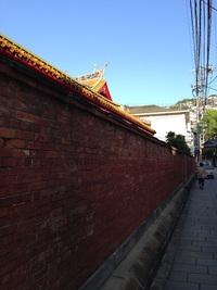 孔子廟・中国歴代博物館 付近の街並み散歩