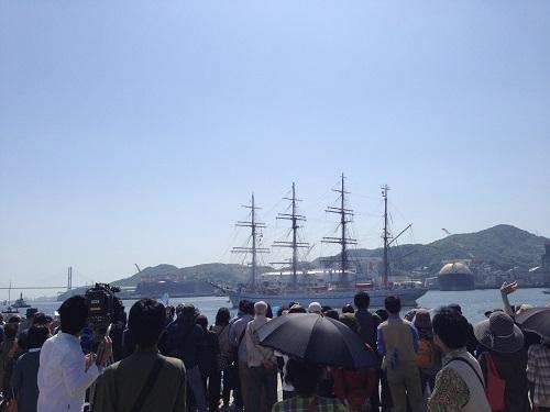 長崎帆船祭り2014