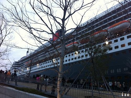 豪華客船クィーンメリー2