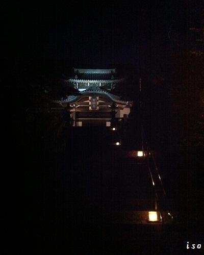 ライトアップ寺町