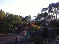 長崎「立山公園」で滑り台 2