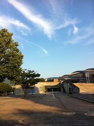 長崎県カブトガニアリーナでトレーニング