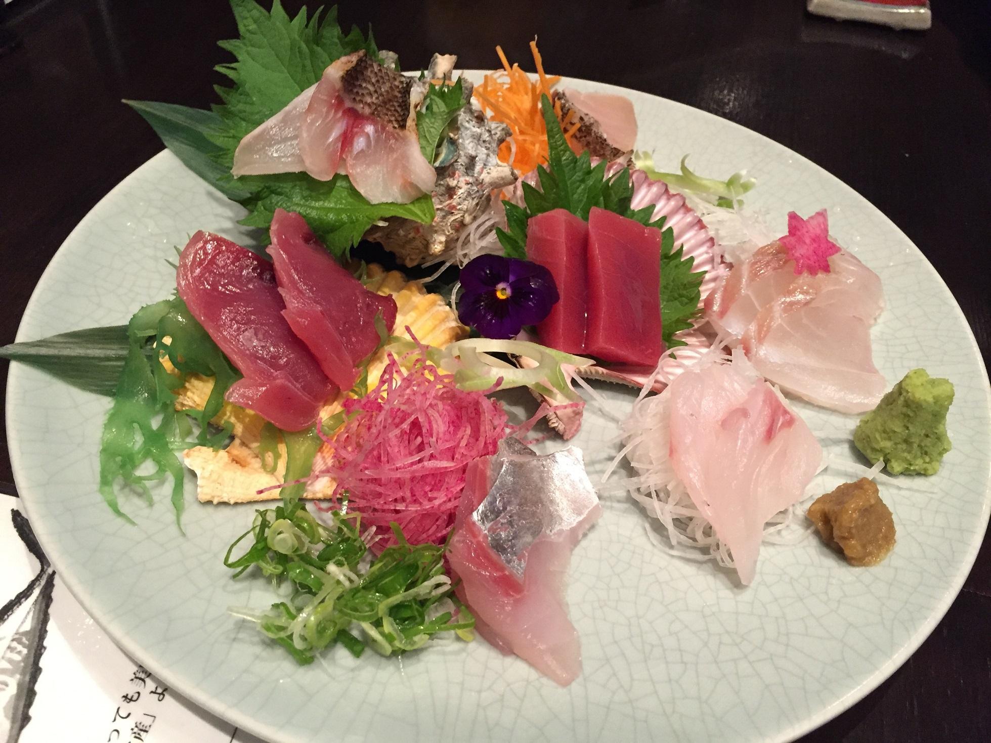 東京・渋谷で上五島の旨い魚を食べることができます。