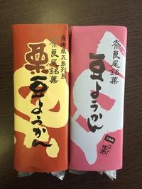 奈良尾の豆ようかん、栗ようかん