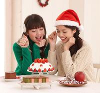 クリスマスにピッタリのケーキをカステラで作ったら