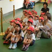 幼稚園児の楽しい工場見学<その1> カステラブログ