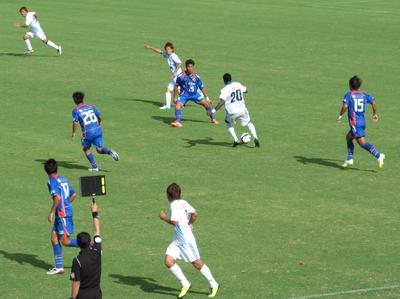 2012JFL第18節 長崎vs讃岐戦のこと
