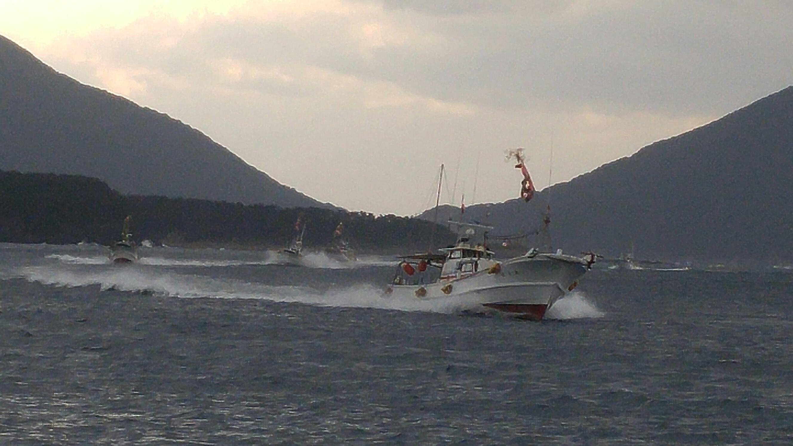 2年に一度の大漁祈願祭!圧巻の漁船の船上パレード!!