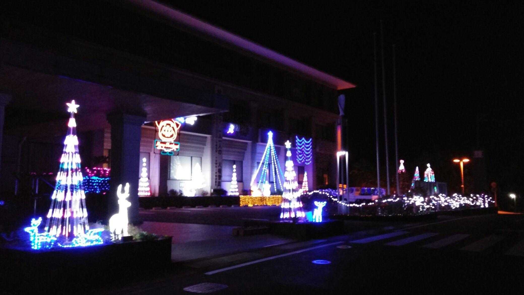 小値賀島で素敵なイルミネーションが点灯!!