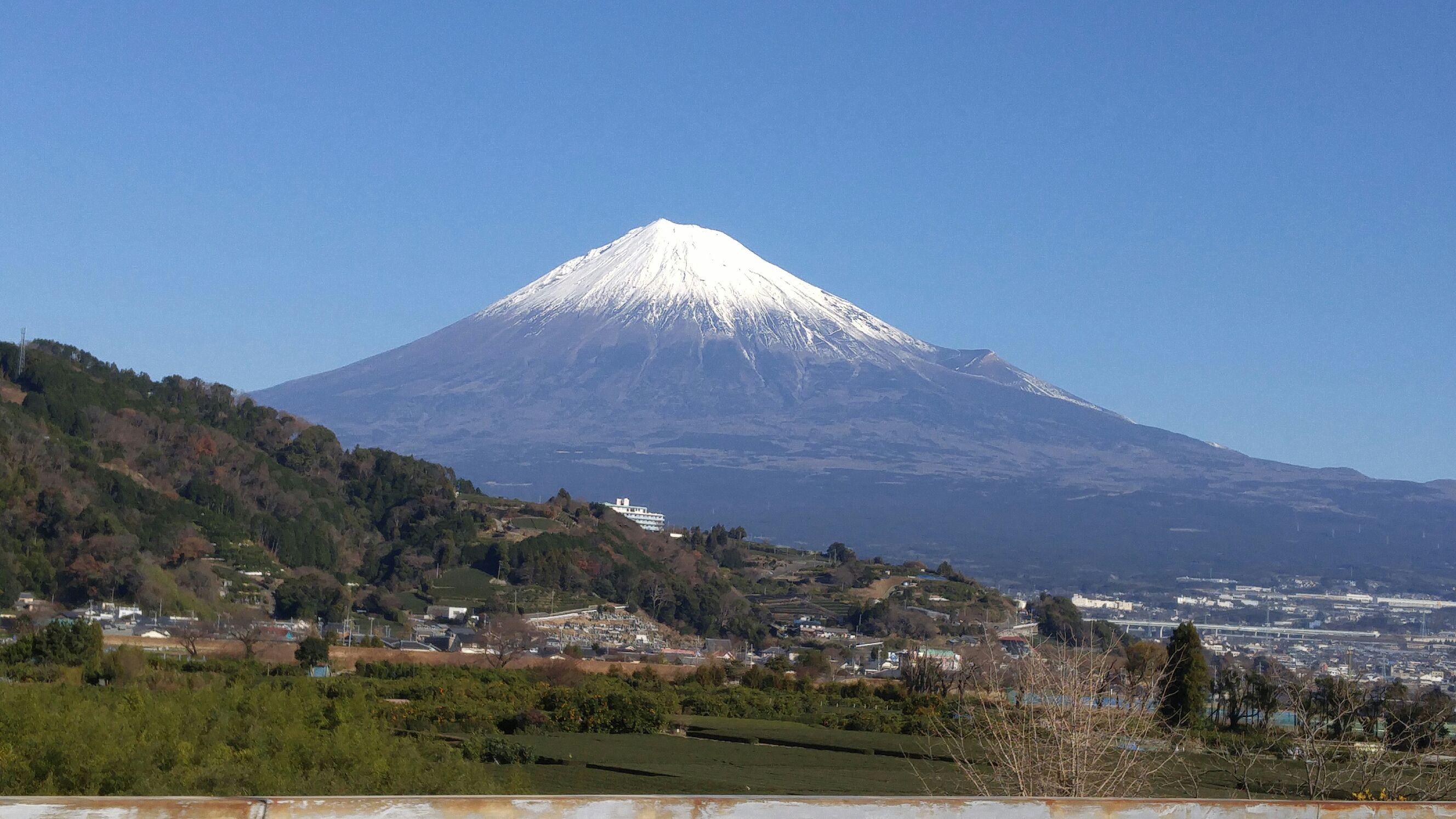 新年は富士山を眺めてスタート☆