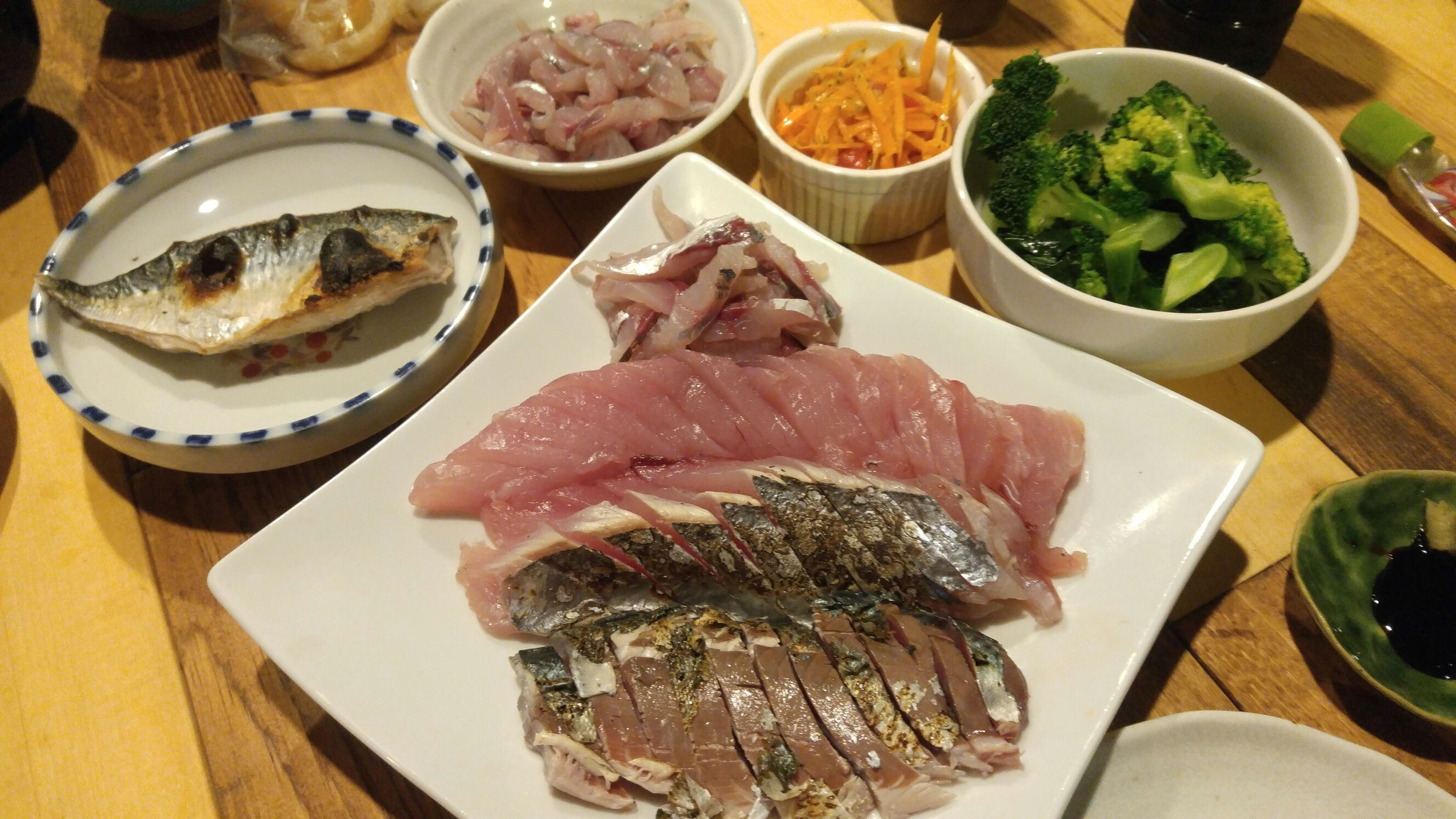 漁師さんからの「マグロ」でお魚ごはん会☆