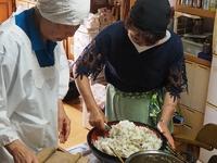 おぢかの郷土料理「中村寿司」作り体験をしました!