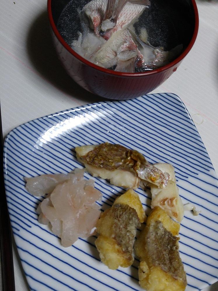 いただきもの=タイで夕食作り