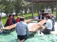 近所の金毘羅祭りに初参加@小値賀島