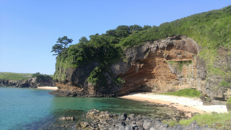 お天気最高!小値賀本島も癒されます。
