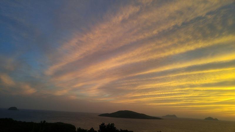夕陽が綺麗なサンセットポイントへ!!