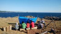 人口5名の島「六島」で初のデイキャンプ!