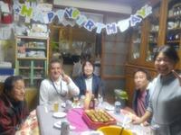 島とお父さんのお誕生日会♪