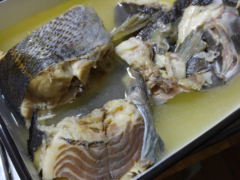 手づくり魚料理と友達との熱い夜☆
