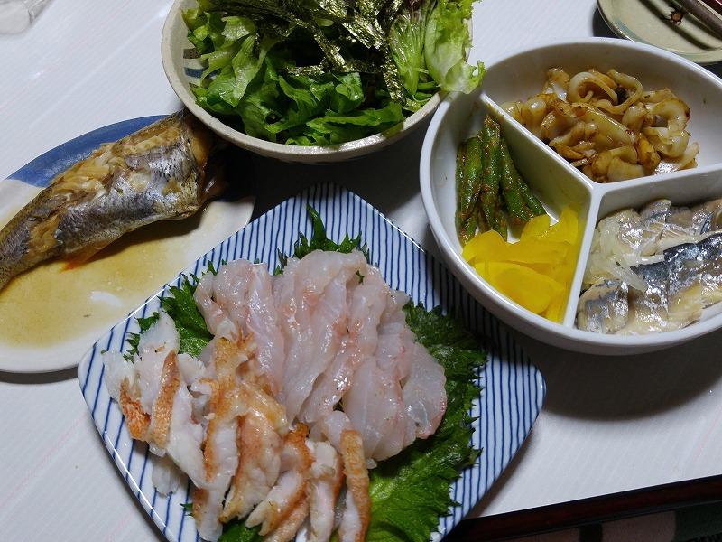 今晩の夕食はリアル0円食堂(笑)