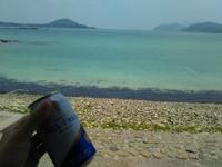 島の休日はきれいな海岸を一人占め!!