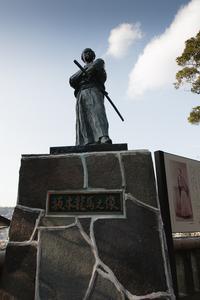 伊良林さるく 亀山社中~風頭への登り方