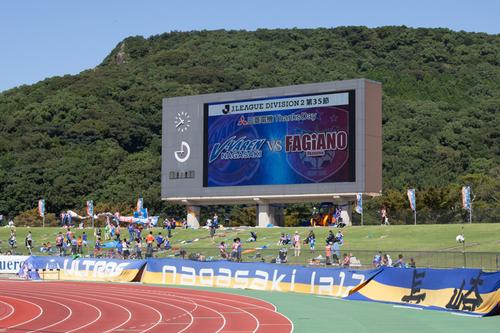 ホーム岡山戦 2014 J2