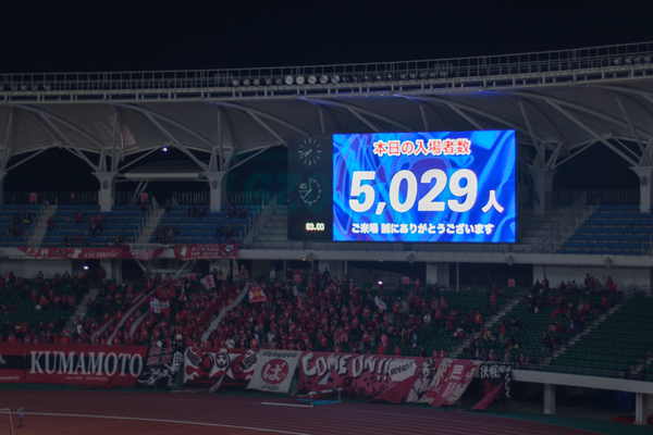 ●V・ファーレン長崎 0-2 ロアッソ熊本 2016 J2