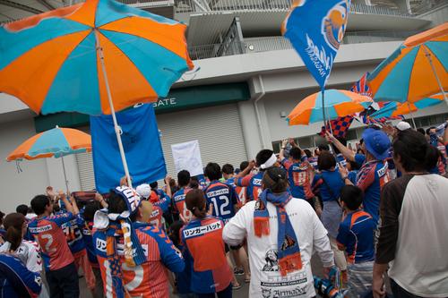 ホーム札幌戦 2014 J2