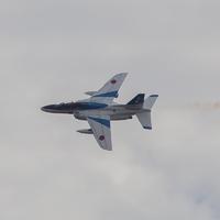 ブルーインパルス展示飛行。予行演習@諫早 長崎国体 2014