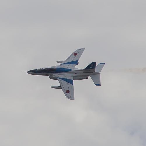 ブルーインパルス 展示飛行 長崎国体 2014