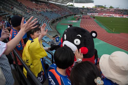 アウェイ熊本戦 2014 J2