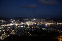 長崎夜景 路線バスで行く稲佐山3