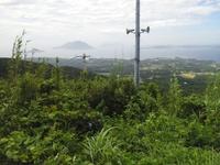 台風5号接近城ケ岳