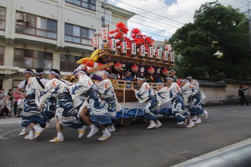 庭先廻り 長崎くんち 2013