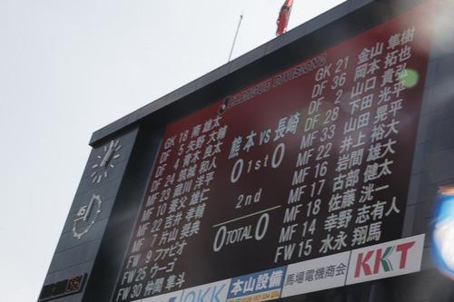 熊本戦アウェイ 2013 J2