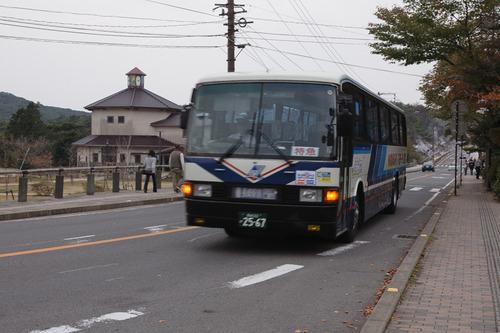 長崎 紅葉 路線バスでいく雲仙