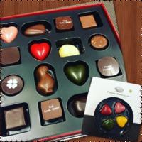 チョコレートと幸せホルモン♡