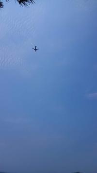 諫早の風景~飛行機~