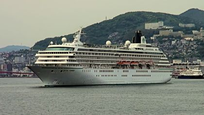 ★豪華客船W寄港