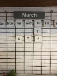 3月に入りますね
